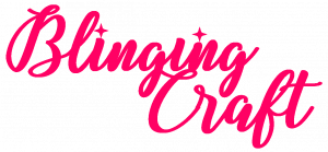 Pink Blinging Craft Logo