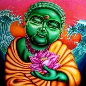 Happy Buddha Diamond Art Kit