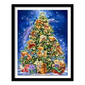 Christmas Tree Diamond Painting Kit
