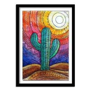 Desert Cactus Diamond Painting Kit for Beginners