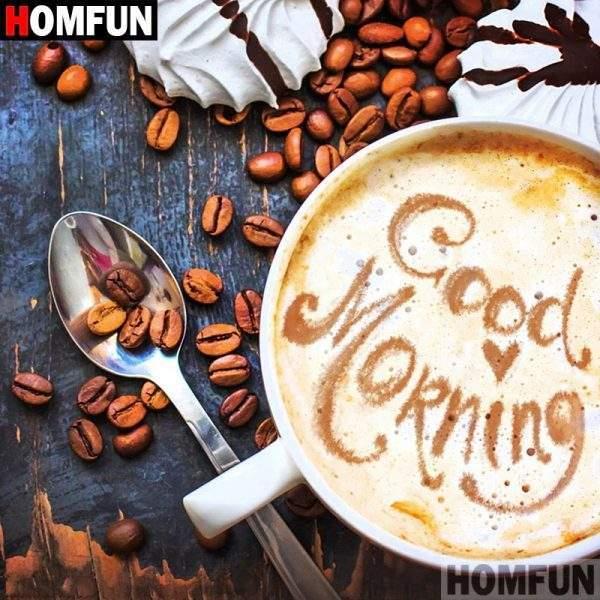 Good morning Coffee Diamond Painting Kit