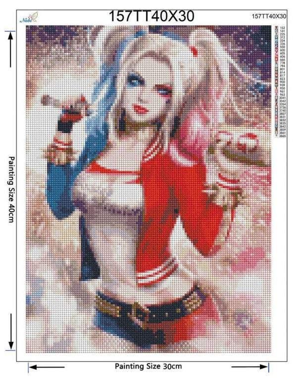 Harley Quinn Diamond Painting kit