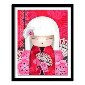 Japanese Doll Diamond Painting Kit for beginners