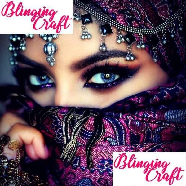 Beautiful eyes diamond painting kit
