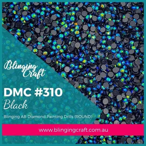 Blinging AB Round Drills DMC 310