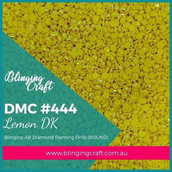 Blinging AB Round Drills DMC 444