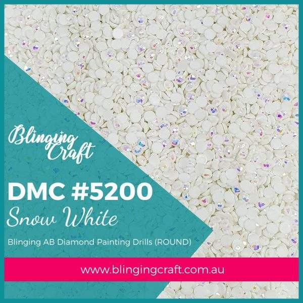 Blinging AB Round Drills DMC 5200