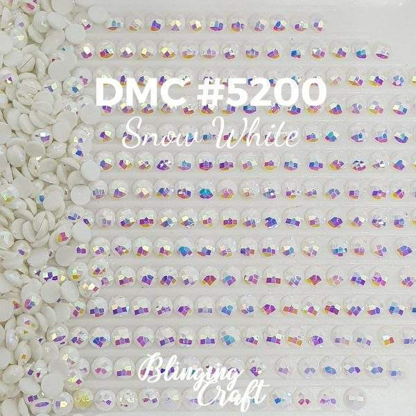 Blinging AB Round Drills DMC 5200 Rows