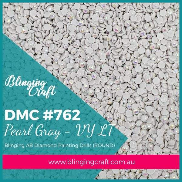 Blinging AB Round Drills DMC 762