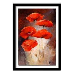 Red Poppies Anzac Day Memorial Diamond Painting Kit