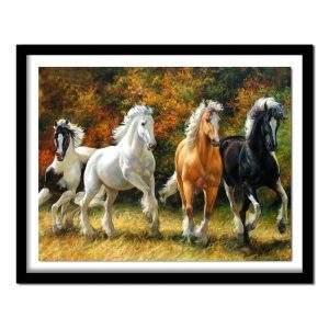 Wild horses running 5d diamond art kit