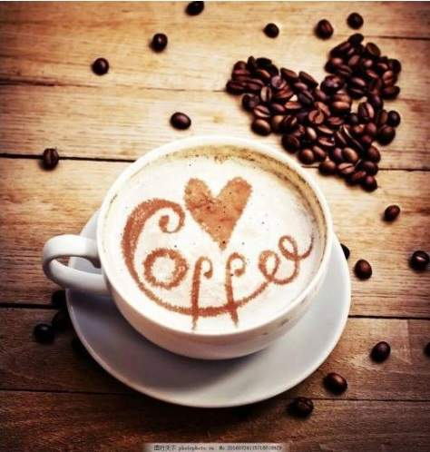 Coffee Love diamond painting kit