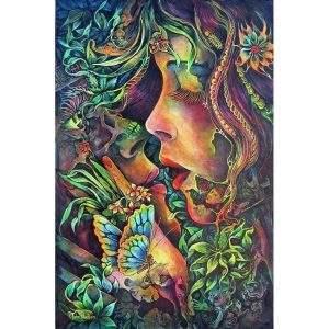 Forest Goddess Love Diamond Painting Kit