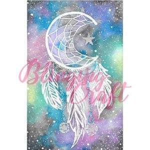 Galaxy Dreamcatcher Diamond Painting Kit