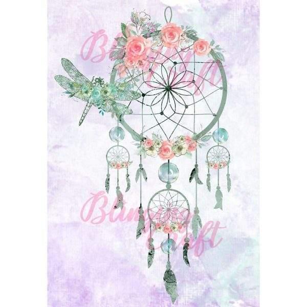 Dragonfly Dreamcatcher diamond painting