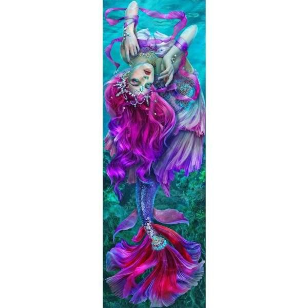Pink Mermaid Diamond Painting Kit