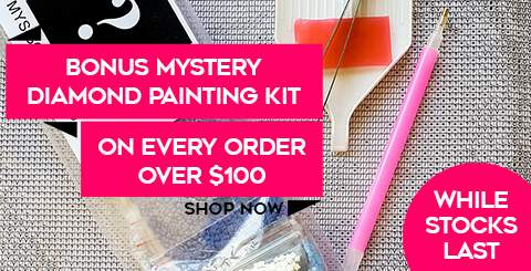 Bonus Mystery Kit with every order over $100