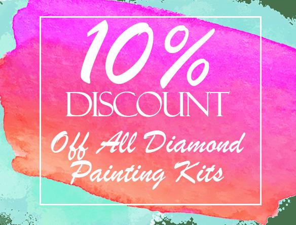 10% discount pink green